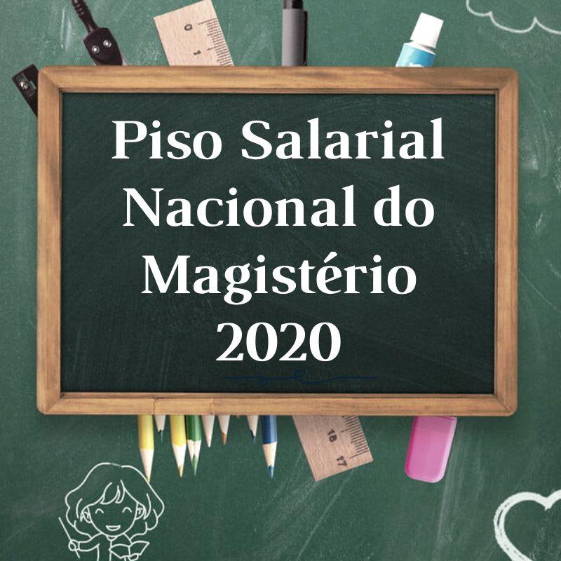 Resultado de imagem para piso salarial dos professores 2020 é lei